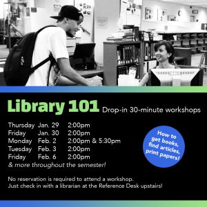 Library 101 workshop