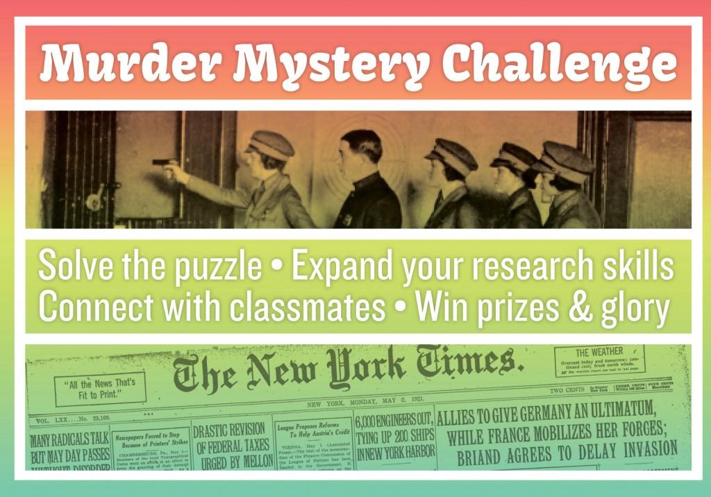 murder mystery challenge